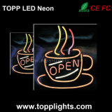 Desktop LED Light Sign Neon Board on Bakery Clothes Shop