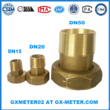 Dn50 (2′′ inch) Brass Water Meter Connector for Brass Water Meter