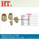 5/16inch Brass Flare Plug Fitting