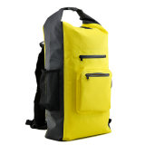 Water Proof PVC Swimming Backpack Bag with Mesh Pocket