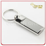 Promotion Metal Keychain with Custom Etched Logo