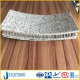 Backed Curved Stone Aluminum Honeycomb Panel for Construction Materials