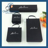 Set of Black Jewelry Box with Custom Logo