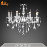 Home Decorative LED Pendant Light Crystal Chandelier