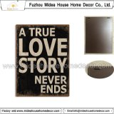 Vintage Style Home Decor Metal Wall Plaque/Metal Wall Plaque