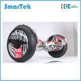 Smartek 10.5 Inch Balancing Scooter Zebra Cross-Country Hoverboard with UL S-002-1