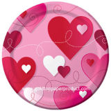 Sweet Heart Paper Plate Disposable Tableware Serving