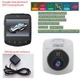 "New 2.0""GPS Tracking Car Black Box Built-in Sony Imx 322 6g CMOS Car Camera; Night Vision Car Digital Video Recroder, GPS Logger Google Map Tracking DVR-2013"