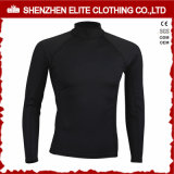Long Sleeve Black Cheap Rash Guards for Man (ELTRGI-1)