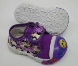 Lateset Fashion PVC Sole Children Baby Shoes Infant Shoes (HH17621-4)