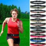 Double Pocket Sports Belt Running Waist Belt Bag Fitness Workout Belt