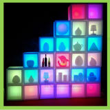 Commercial LED Glowing Bar Furniture Modern Wine Bar Cabinet