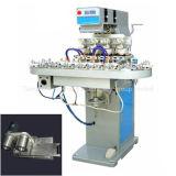 4-Color Low-Voltage Pad Printing Machine with Conveyor