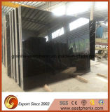 Natural Black Nero Marquina Marble Slab