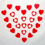 Heart Shape Refrigerator Magnet Magnetic for Gifts