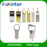 Mini USB Flash Drive Customed USB Memory Thumbdrive Metal Paw USB Stick