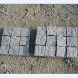G684 Natural Split Black Granite Paving Stone