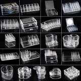 Clear Plastic Acrylic Cosmetic Storage Box/Cases