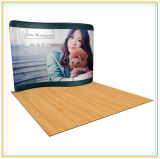 8ft Waveline Fabric Display for Portable Exhibition