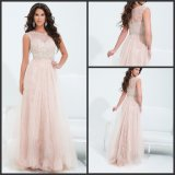 Lace Tulle Party Prom Gowns Custom Made Evening Dresses Z8032
