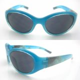 2015 Hot Selling Fashion Plastic Frame Sunglasses for Kids