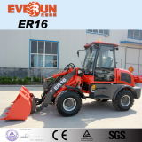 Er16 Everun Brand Compact Wheel Loader with Floating Function