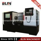 Indepandent Spindle Unit Flat Bed CNC Lathe Machine