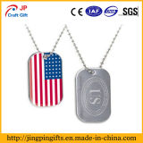 American Military Dog Tag in Metal