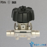 Stainless Steel Sanitary Diaphragm Valve (new design)