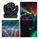 6X15W RGBW 4 in 1 Mini LED Bee Eye Beam Moving Head Light