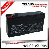 6V1.2ah AGM Sealed Lead Acid Battery for Lighting System