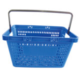 Supermarket Plastic Single Handle Basket for Shop (YD-Z5)