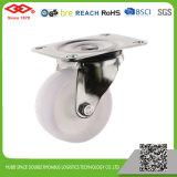 White Plastic Swivel Plate Castor (P106-30C075X32)