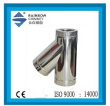 135 Degreedouble Wall Spigot Lock Chimney Tee Fireplace
