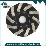 "Diamond Turbo 5"" Stone Grinding Wheels for Granite & Marble"