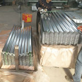 Dx51d+Z Corrugated Galvanized Steel Roofing Sheet in Djibouti