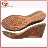 Wedge Heel Cork Sole for Ladies Sandals