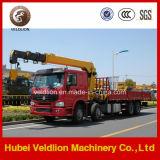 Sinotruk 12 Wheel Heavy 16 Tons Truck-Mounted Crane