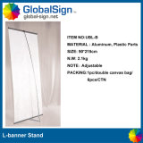 Outdoor Promotional L Banner Stand, L Display Frame