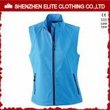 Womens Blue Softshell Jacket Sleeveless