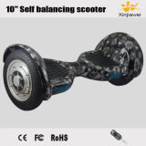 """2017 Skull Big Inflatable Wheels 10"""" Self Balancing Electric Scooter"""
