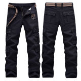 Last Design Fashion Army Trousers Plain Cotton Military Pants