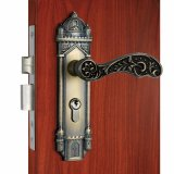 High Quality Mortise Door Lock Antique Brass Privacy Fire Proof