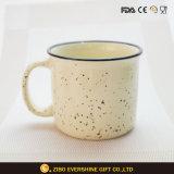 Beautiful Snow Sopt Printing Ceramic Coffee Mug with Handle