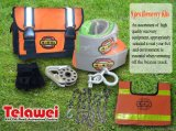 9 PCS Recovery Kits for off-Roading Using