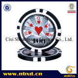 11.5g Sticker Poker Chip with Available Stickers (SY-D17C)