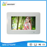 "7"" Digital Picture Frame with Music Video Picture/Photo Playback"