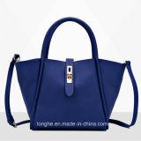 Professional Factory Trendy Style Cheap Blue Fashion Lady Handbag