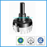 Low Price Special 26mm Plastic Shaft Rotary Route Switch
