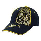 Black Sport Printing Baseball Caps (JRE003)